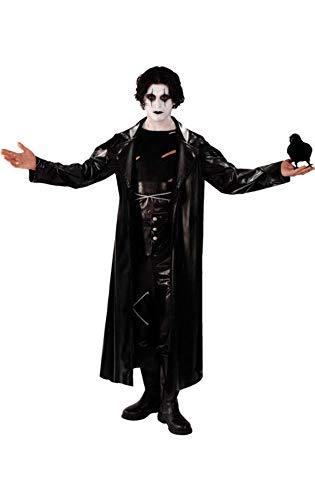 Goth Die Krähe Superheld Kostüm Karneval Fasching Verkleidung Herren Extra Large