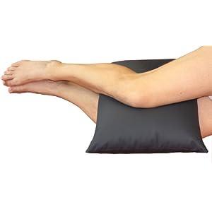 CORA orthopädisches Kniekissen für die Seitlage | mit PU-beschichteter safetex Oberfläche