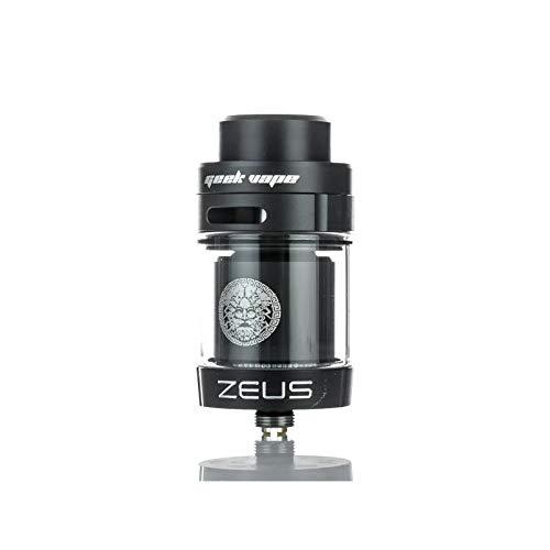 Geekvape - Zeus Dual RTA-Zerstäuber für elektronische Zigarette aus Edelstahl mit Einem Durchmesser von 26 mm und Einem 4,0 ml-Tank (Schwarz) - Sigelei Elektronische Zigarette