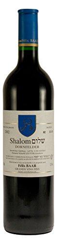 Shalom Dornfelder Rotwein Rheinhessen 2002, Halbtrocken, Koscher
