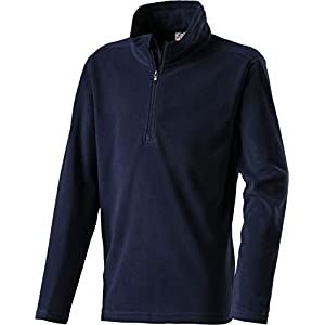 McKINLEY Kinder Ski Freizeit Fleece Rolli Sweatshirt Cortina II Black iris