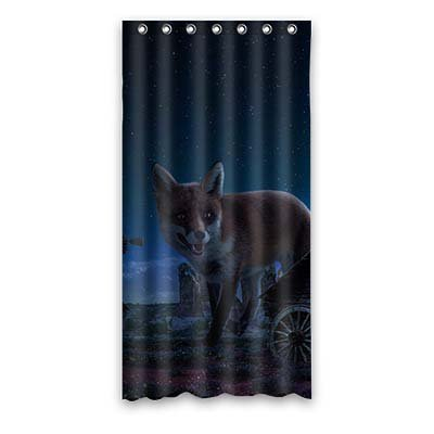 Dalliy volpe costume tenda della doccia shower curtain 90cm x 183cm