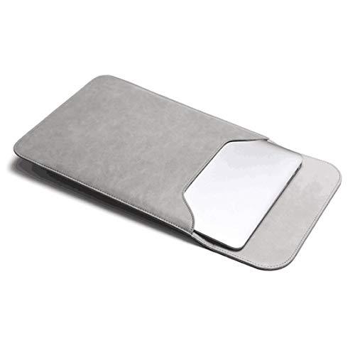 KERVINFENDRIYUN YY4 Laptop-Hülle Tasche für Macbook Air 11.6-15.4 Zoll mit kleinem Fall Campatible Macbook Ladegerät (Color : Gray, Size : Mac 12 inch)