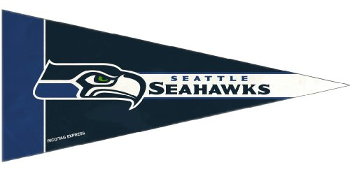 Rico Industries 9474642927 Seattle Seahawks Mini Pennant