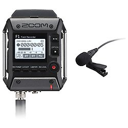 Zoom F1-LP/IF Registratore Digitale Con Microfono Lavalier, Nero