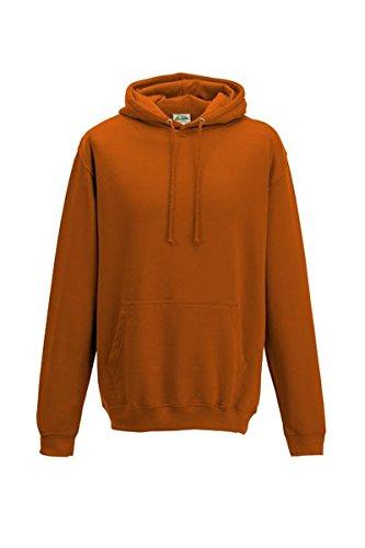 Unisex College Sweatshirt mit Kapuze, Größe:XXL;Farbe:Burnt Orange XXL,Burnt Orange (Sweatshirt Burnt Orange Hoody)