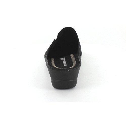 ROMIKA VILLA 128 3212870/100 femmes Chaussons Noir