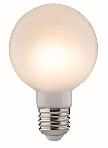 Paulmann 28486 LED Retro-Globe G80 Vintage Leuchtmittel 6Watt dimmbar E27-Sockel Filament Opal 2.700K Warmweiß 806 Lumen