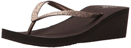 Reef Krystal Star, Sandali Donna Marrone (Bronze)