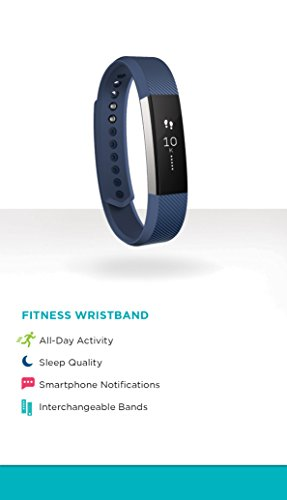 Fitbit Alta Activity Tracker & Fitness Watch – Blue/Small