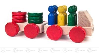 giochi-lautomobile-di-legno-con-il-sostenitore-altezza-staccabile-di-larghezza-x-di-vizio-del-camion
