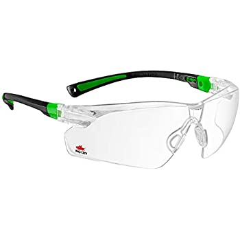 363504a0179b NoCry Safety Glasses with Clear Anti Fog Scratch Resistant Wrap-Around  Lenses and No-Slip Grips