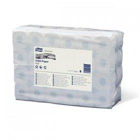 Tork 2101 T4 Kleinrollen Toilettenpapier, 2-lagig, Weiß (60-er pack)