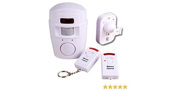 Bosch Kühlschrank Alarm Deaktivieren : Alarmanlage bewegungsmelder mit 2 fernbedienungen mini alarmsystem