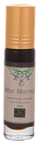ATTAR MAJMUA perfume 100% ALCOHOL FREE FOR MEN & WOMEN (ROLL ON 8 ml)  available at amazon for Rs.80