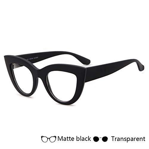 YOGER Sonnenbrillen Mode Cat Eye Sonnenbrille Frauen Vintage Sonnenbrille Breiten Rahmen Brillen Designer Mädchen Eyewear Uv400