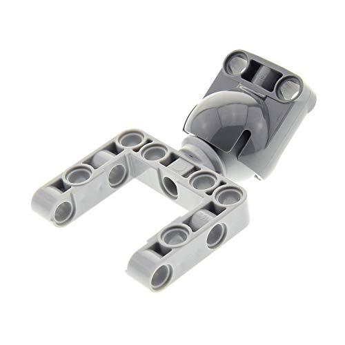 LEGO 1 x Technic Kugelgelenk Verbinder neu-hell grau Liftarm Rahmen offen Gelenk Aufnahme 9398 41999 42038 45560 8110 42005 4610380 4610379 92911 92910