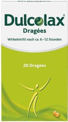 Dulcolax Dragées Sanofi-Aventis, 20 St. Tabletten