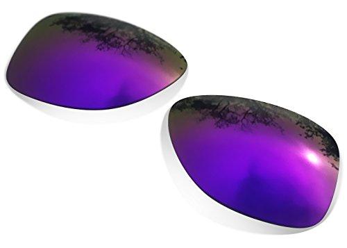 sunglasses restorer Kompatibel Ersatzgläser für Oakley Frogskins, Polarisierte Purple
