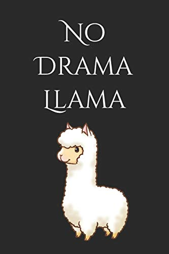 51d594e1 No Drama Llama: Sketchbook Journal to Write In, Journal Notebook, Activity  or Diary