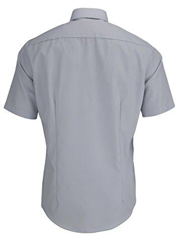 Venti Herren Businesshemd 001620 Silber