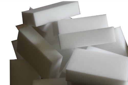 Générique Grand Magique Nettoyant Gomme Eponge Mélamine Mousse de Haute Qualité 110 X 70 X 30mm (paquet de 200)