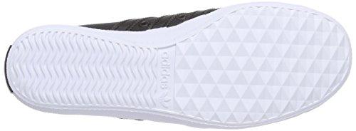 adidas - San Remo, Scarpe da ginnastica Unisex - Adulto Nero (Schwarz (Core Black/Core Black/Ftwr White))