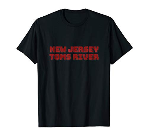 Knitting Style NEW JERSEY TOMS RIVER Unique Tee Best Gift  T-Shirt