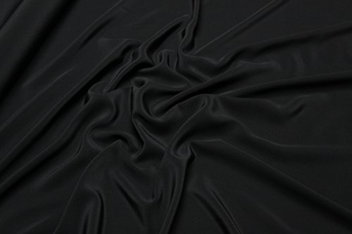 Escalano Seide Crepe de Chine 100% Seide Druck Bluse Kleid Schal Umhang Nachtkleid Silk Stoff Meterware -