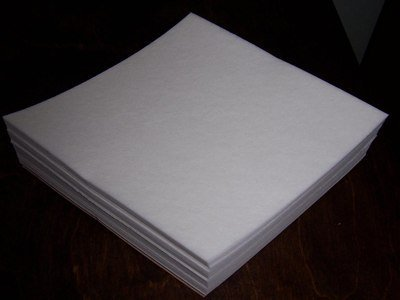 500 Precut Sheets of Tear Away Machine Embroidery Stabilizer Backing - Medium Weight 1.8oz. - 8
