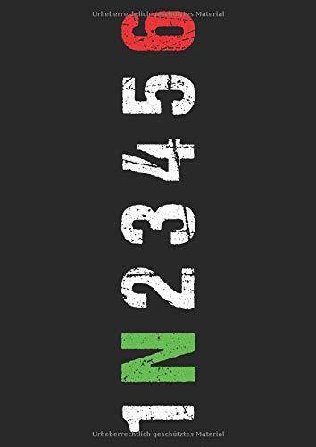Mein Motorrad Tourenbuch: Dein persönliches Reisetagebuch für Motorrad Touren und Motorrad Reisen ♦ für über 100 Touren ♦ Großzügiges A4 Format ♦ Motiv: Gangschaltung