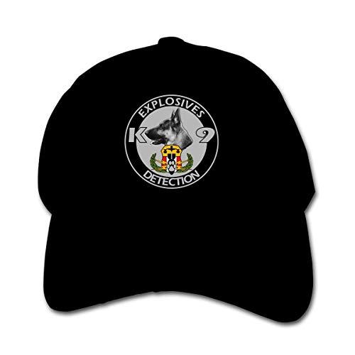 ADGoods Kids Children Explosives Detection K9 Baseball Cap Adjustable Trucker Cap Sun Visor Hat for Boys Girls Kinderbaseballmütze -