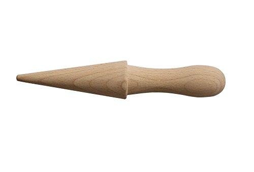 Astra Gourmet 1pizzelle-cone Roller Membran Hippe (Gebäck) Roller Holz Buchenholz Gebäck Eis Kegel Form Pizzelle Cone Roller