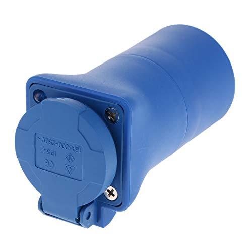 F Fityle 1 x Wasserdicht Industrie Steckschlüssel Buchse Steckdose 220-240V 16Ampere