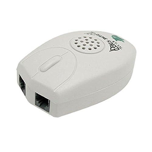 Veewon Forte Telefono suoneria telefono anello Amplificatore RJ11 Ringer
