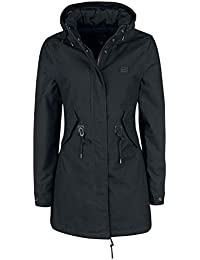 Vintage Industries Indy Ladies Parka Winter Jacket Black 8b2456bb37