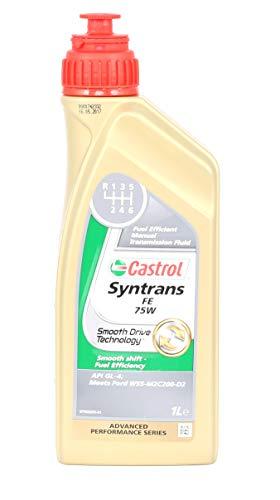 1litro Castrol syntrans FE 75W cambio olio di ingranaggi di olio 31858082