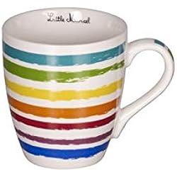 Little Marcel - Coffret 6 tasses en Porcelaine 20cl