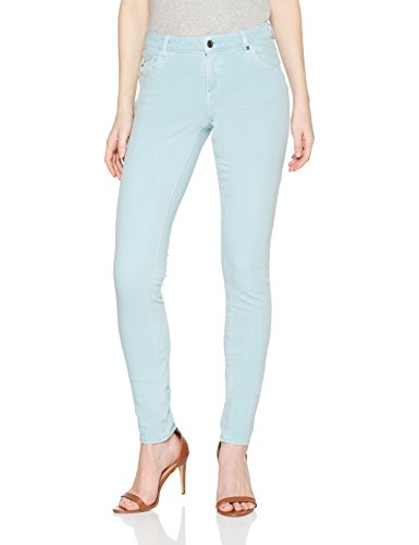s.Oliver Damen Skinny Jeans 04.899.71.4712, Grün (Dusty Mint Denim Stretch 61Z3), 40/L30 (Grüne Stretch-twill)