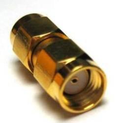 adaptare 60312 Adapter RP-SMA-Anschluss ohne Pin auf SMA-Stecker