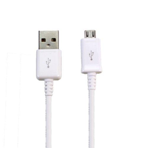 Lapinette Kabel Data + Micro USB Ladekabel für Archos 55Helium weiß
