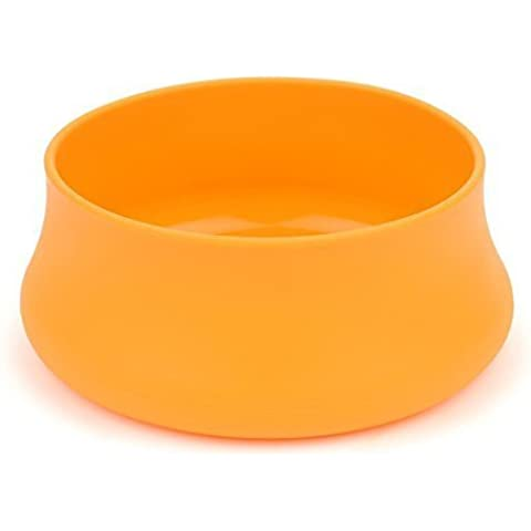 Guyot Designs Squishy Pet Bowl - 32oz Hunter Orange by Guyot Designs