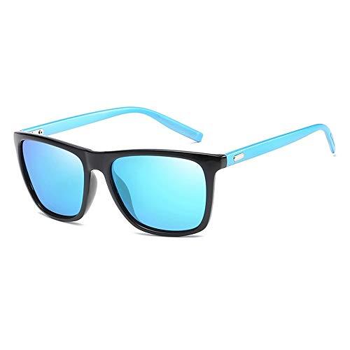 LAMAMAG Sonnenbrille Polaroid Sonnenbrille Unisex Platz Vintage Sonnenbrille Sunglases polarisierte Sonnenbrille Retro Feminino für Frauen männer, 3