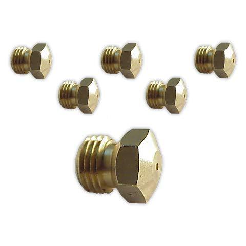 DOJA Industrial | Inyectores Cocina M-9 [kit 6] | Gas Butano Gas...