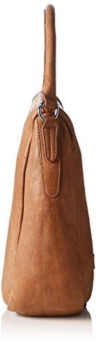 Liebeskind Berlin Sanjo perfor, Sacs portés épaule Marron - Braun (hazelnut brown 8747)