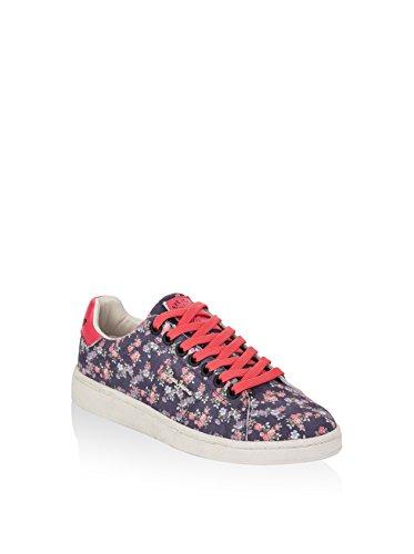 Sport scarpe per le donne, colore Floreale , marca PEPE JEANS, modello Sport Scarpe Per Le Donne PEPE JEANS CLUB FLOWERS Floreale Blu