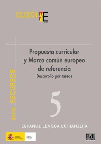 Propuesta curricular marco común europeo (Estudios y recursos) por Sonsoles Fernández López