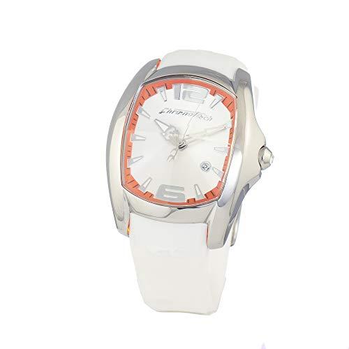 Chronotech orologio analogico quarzo uomo con cinturino in gomma ct7107m-16