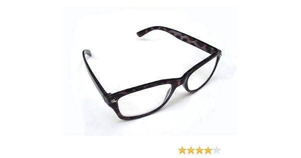c8bac6d42145 WAYFARER STYLE READING GLASSES BLACK MOTTLED 1.5 RETRO LOOK R4007   Amazon.co.uk  Health   Personal Care