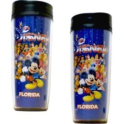 Disney Americana Character Mickey Group Travel Mug by Disney